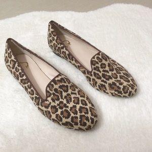 NWOT C.Wonder leopard loafers 7.5